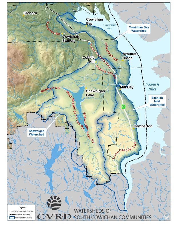 South_Cowichan_Watershed_map