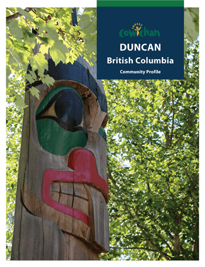Link to the City of Duncan community profile.