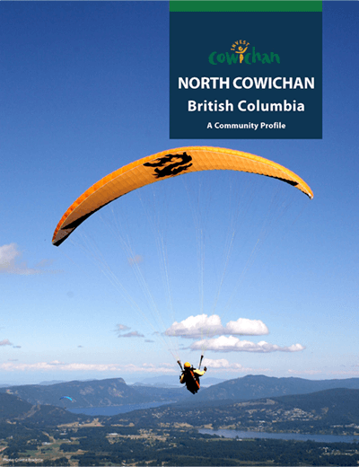 Link to the Municipality of North Cowichan community profile.