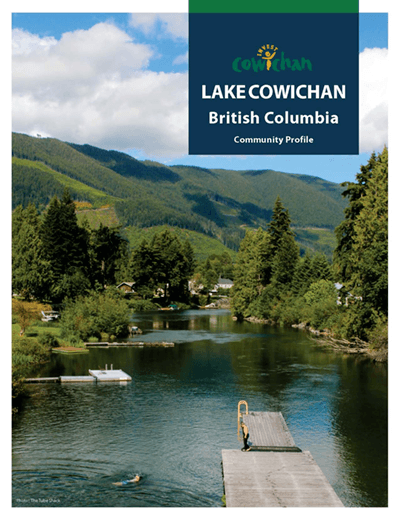 Link to the Town of Lake Cowichan community profile.