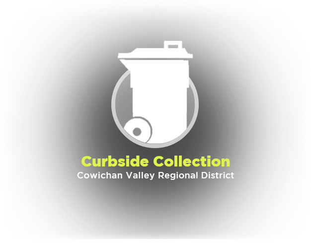 Click to find out more about curbside collection services within the CVRD.