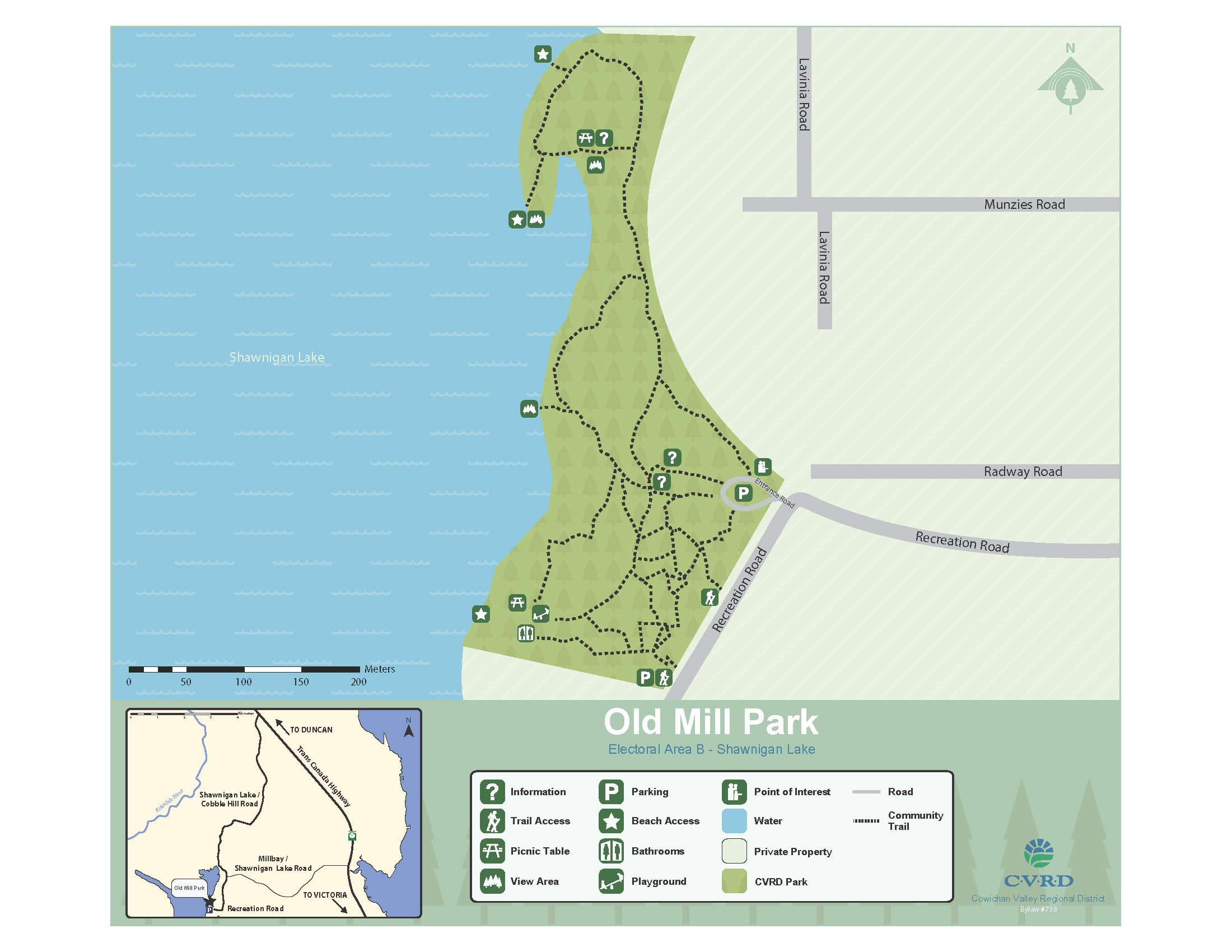 Old Mill Park Map