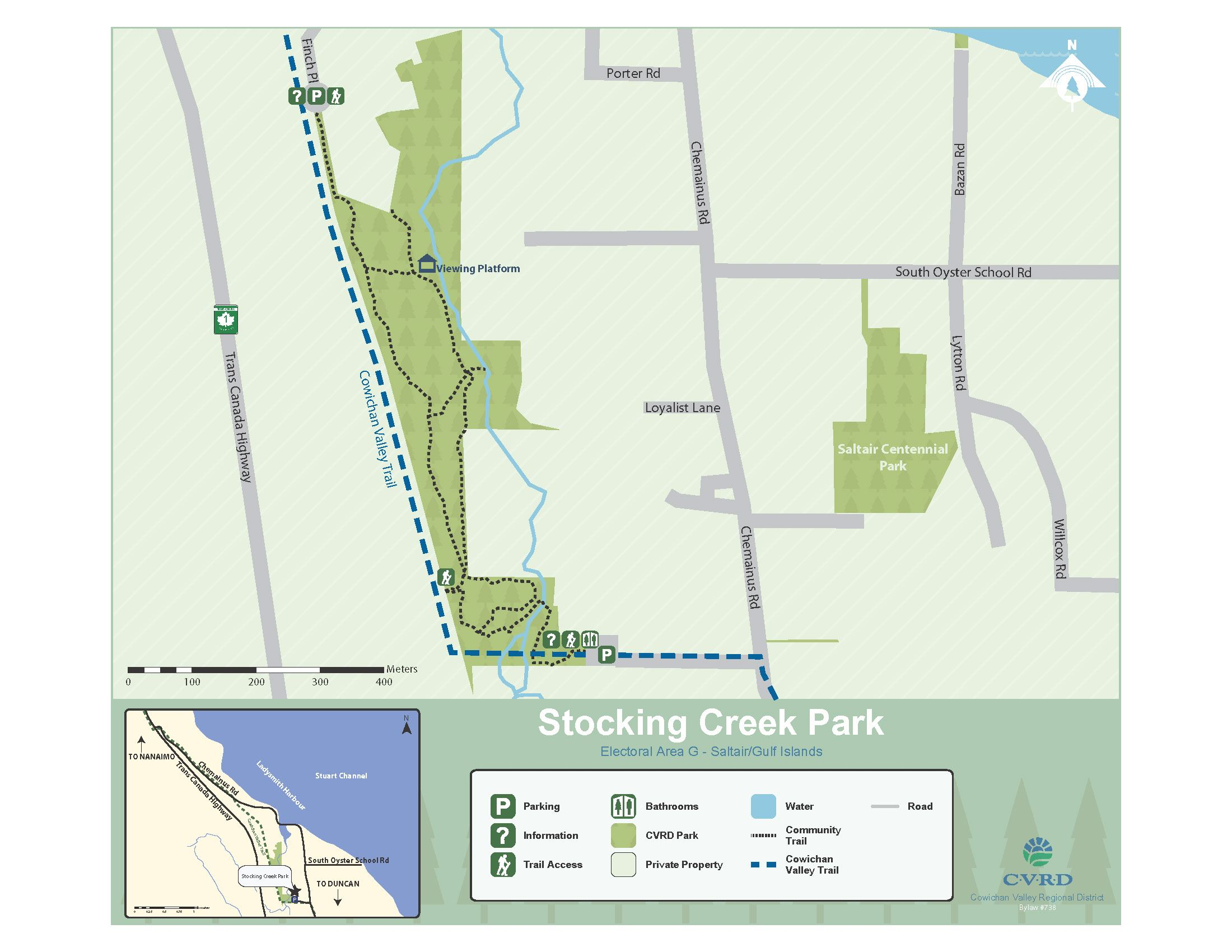 Stocking Creek Park Map