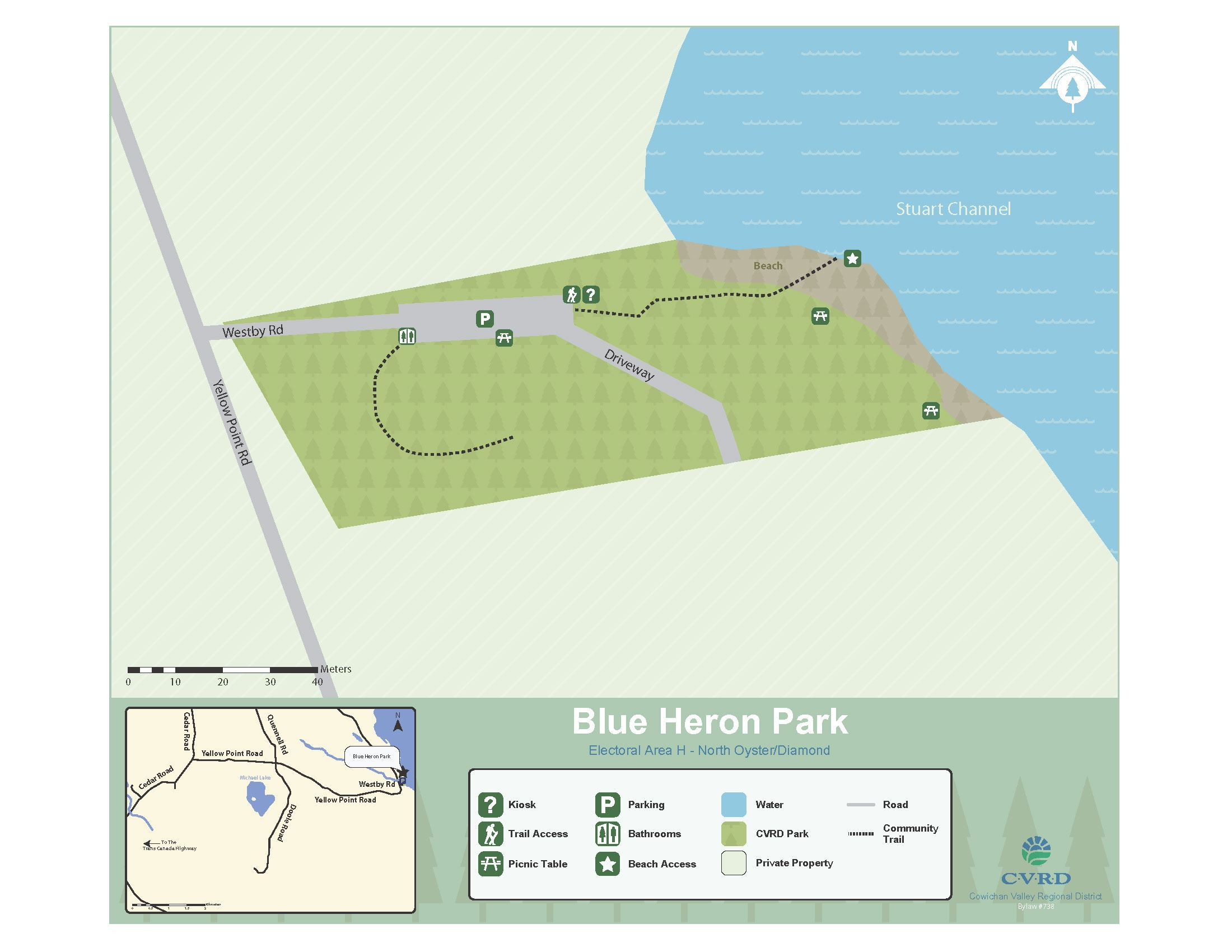 Blue Heron Park Map