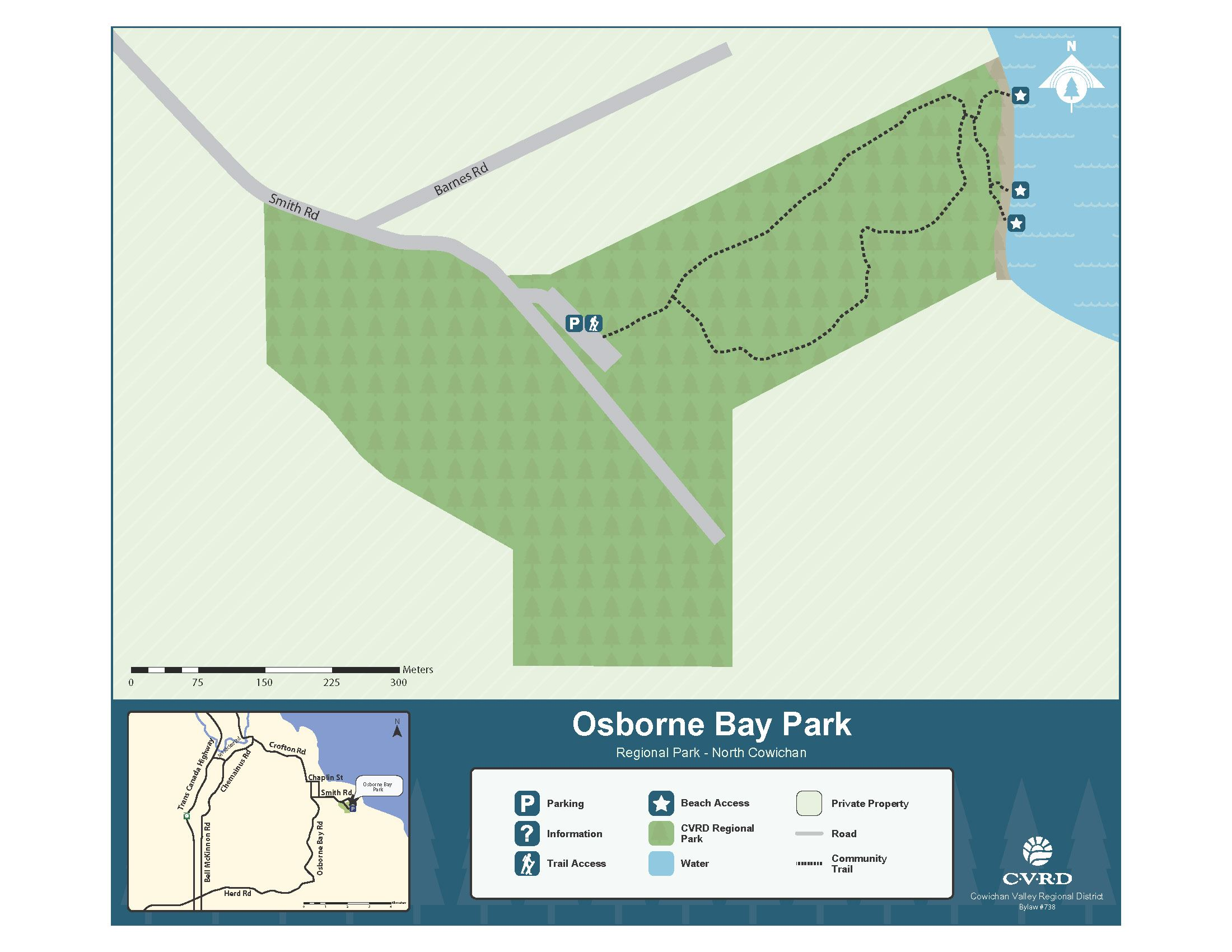 Osborne Bay Park Map
