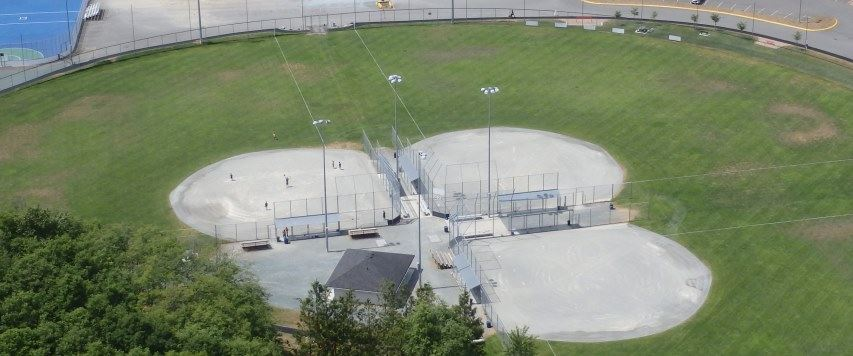 Cowichan Sportsplex Ball Fields in Duncan