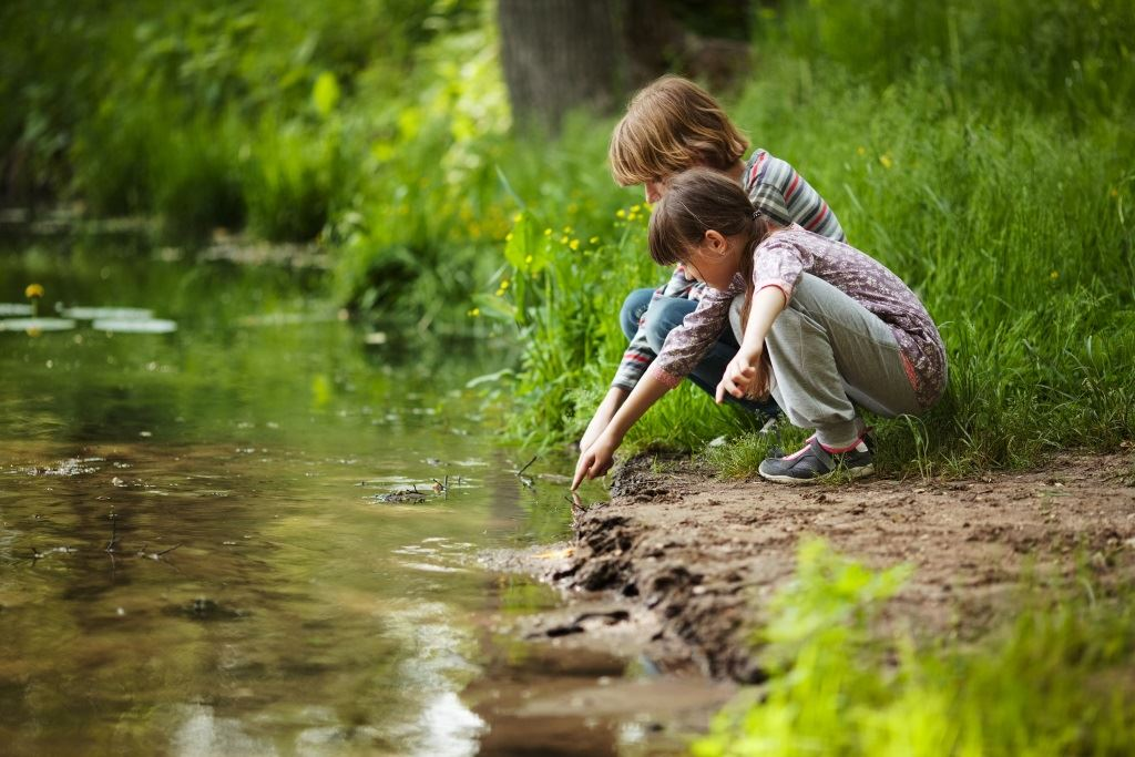 Children and Stream