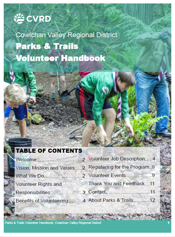Parks and Trails Handbook