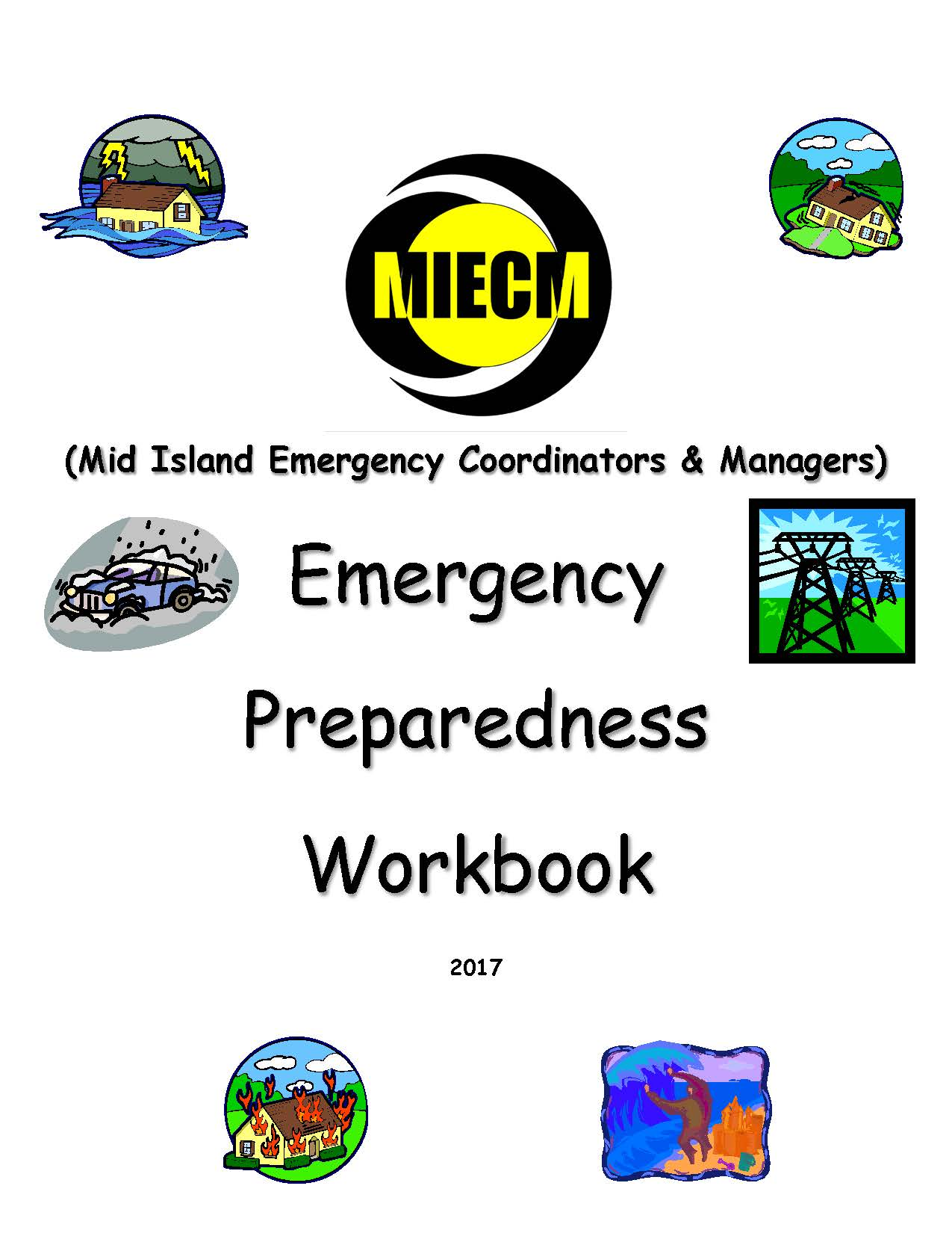 Emergency Preparedness Workbook Cover Image