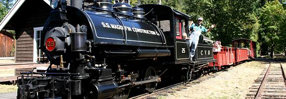 Cowichan Steam Train